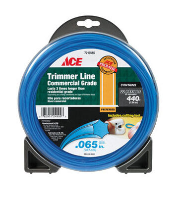 Ace Commercial Trimmer Line 0.065 in. Dia. x 440 ft. L 22 refill