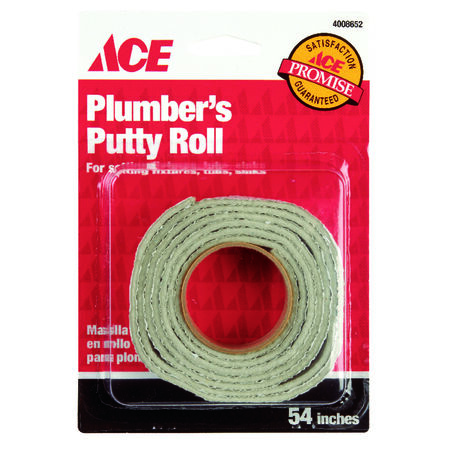Ace 3/4 in. W x 54 in. L Plumber's Putty Roll