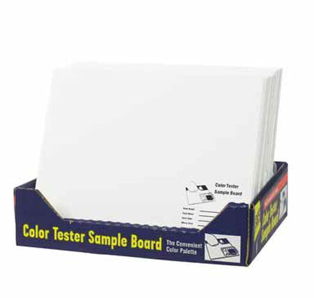 FoamPRO Color Test Sample Board 12 in. L x 10 in. W Foam Core