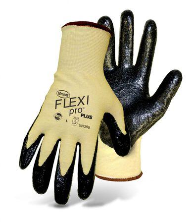 Glove Kevlar Knit L Nitrile Pa