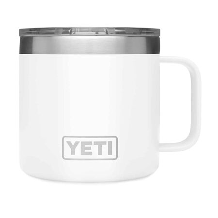 YETI Rambler 14 oz. Insulated Mug White