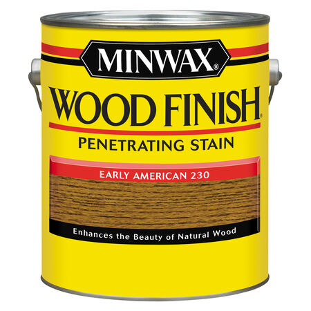 Minwax Wood Finish Semi-Transparent Early American Oil-Based Oil Wood Stain 1 gal.