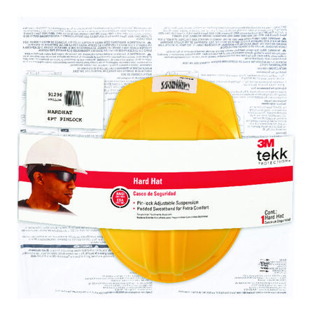 Tekk Yellow Hard Hat Polyethylene