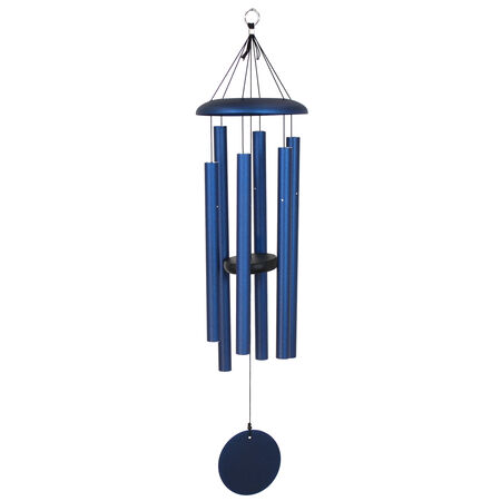 "Corinthian Bells, 36"" Midnight Blue Windchime"