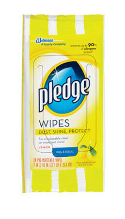 Pledge 24 pk Furniture Wipes