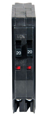 Square D QO Tandem/Single Pole 20/20 amps Circuit Breaker