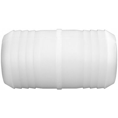 Green Leaf Nylon Hose Mender 1/4 in. Dia. x 1/4 in. Dia. White 1 pk