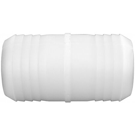 Green Leaf Nylon Hose Mender 3/8 in. Dia. x 1/2 in. Dia. White 1 pk