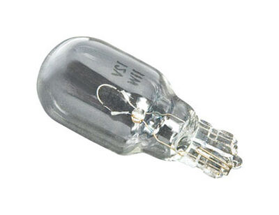 Paradise Incandescent Light Bulb 11 watts Low Voltage T5 White (Clear) 4 pk