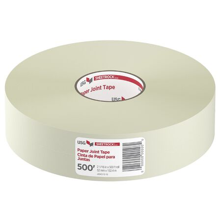 Sheetrock 500 ft. L x 2-1/16 in. W Paper White Joint Tape