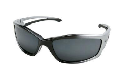 Edge Eyewear Multi-Purpose Safety Glasses Antifog Silver Lens Silver Frame Bulk