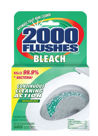 2000 Flushes Automatic Toilet Bowl Cleaner 1.25 oz. Clean Scent