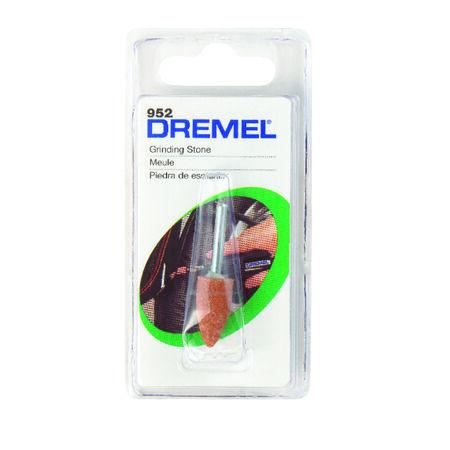 Dremel Aluminum Aluminum Oxide Grinding Stone 1 pk