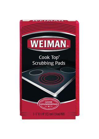 Weiman 3 pk Cooktop Scrubbing Pads
