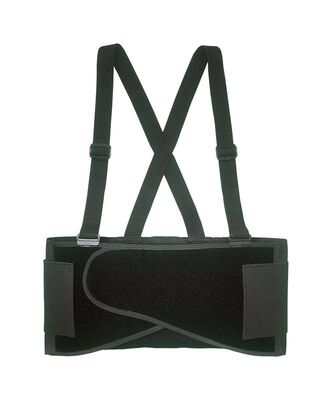 CLC Black Elastic Back Support Belt 32 To 38