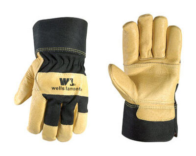 Wells Lamont Palomino Men's Large Leather Palm Gloves