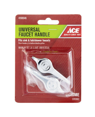 Ace Lever Chrome Hot and Cold Universal Faucet Handle