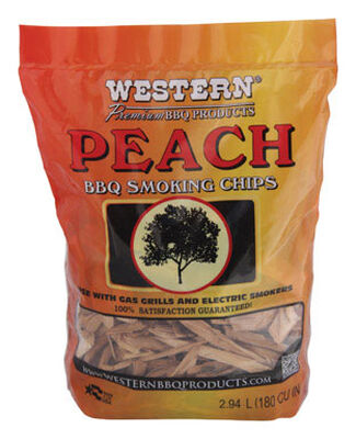 Western Peach Wood Smoking Chips 2 lb.