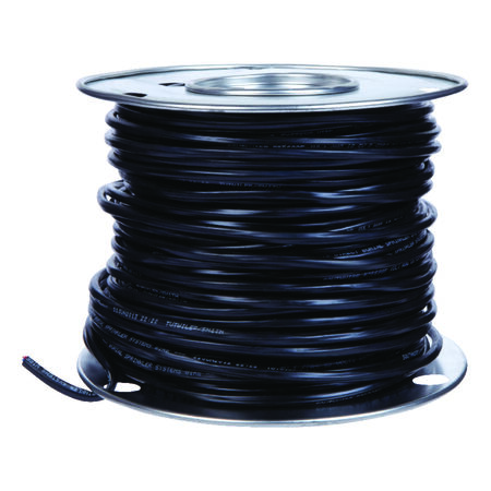Southwire 250 ft. 18/5 Copper Sprinkler Wire Black