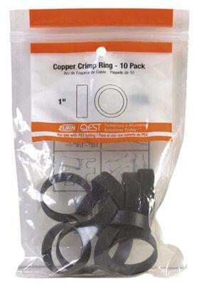 SharkBite 1 in. Dia. PEX Copper Crimp Ring 25 pk