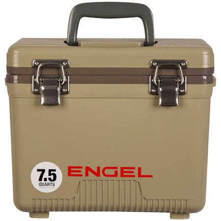 Engel UC7T Dry Box/Cooler 7.5 Qt. Tan