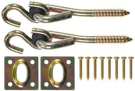 Ace Zinc Plated Steel Swing Hook Kit 1 pk