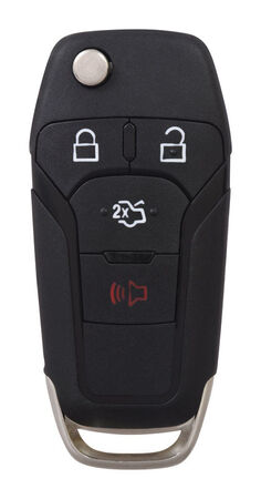 DURACELL Advanced Remote Automotive Replacement Key Ford N5F-A08TAA 128-bit High Security Flip K