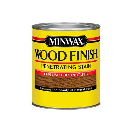 Minwax Wood Finish Semi-Transparent English Chestnut Oil-Based Oil Wood Stain 1 qt.