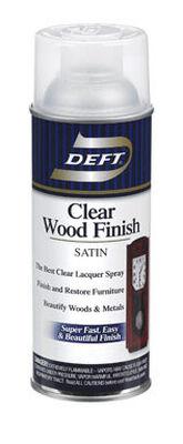 Deft Wood Finish Lacquer Satin 12-1/4 oz.