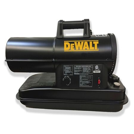 DeWalt 75000 BTU/hr. 1750 sq. ft. Forced Air Kerosene Heater