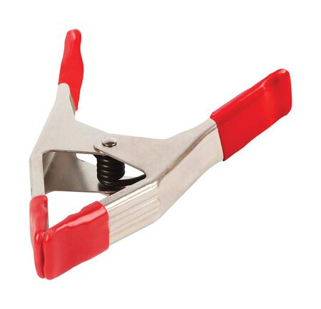 Bessey 3 Maximum Jaw Width Polyvinyl/ Steel Spring Clamp 9 in. L x 0.3 in. W