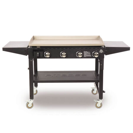 Pit Boss PB575GS4 Standard Liquid Propane Outdoor Griddle Grill Black 4 burners