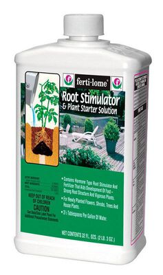 Ferti-Lome Root Stimulator Fertilizer For Newly Planted Flowers 32 oz.