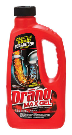 Drano Professional Strength Max Gel Clog Remover 32 oz.