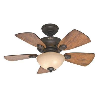 Watson 34 in. New Bronze Ceiling Fan