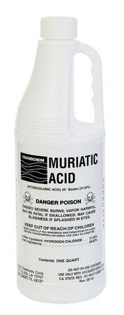 Transchem 1 qt. Muriatic Acid