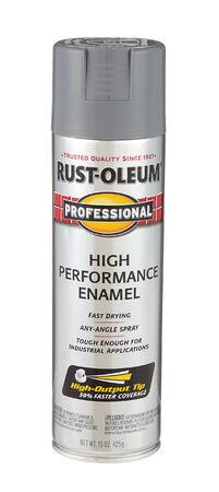 Rust-Oleum Professional Dark Gray Gloss Enamel Spray 15 oz.