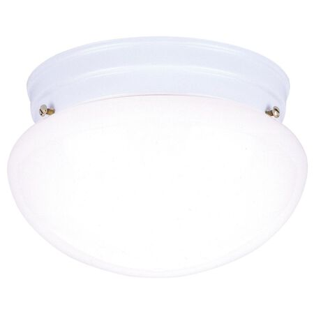 Westinghouse White Ceiling Fixture 4-3/8 in. H x 7-1/4 in. W