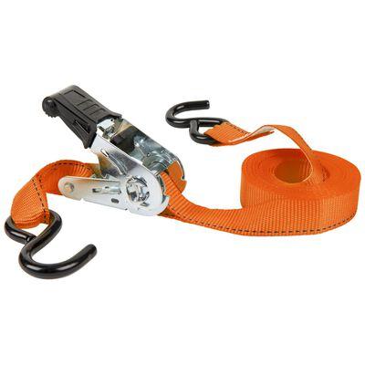 Keeper Tie Down Strap Orange 15 ft. L 500 lb. 4 pk