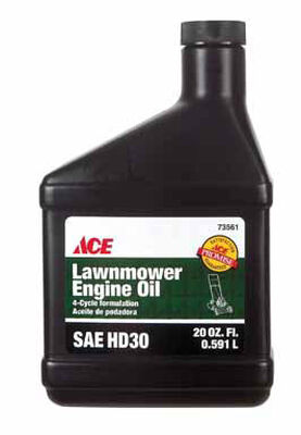 Ace SAE HD30 4 Cycle Engine Lawnmower Oil 20 oz.