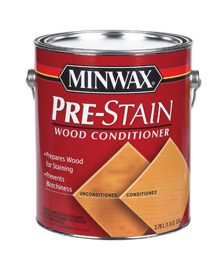 Minwax Pre-Stain Wood Conditioner Clear 1 gal.