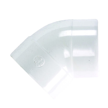 Plastic Trends SDR35 4 in. Spigot x 4 in. Dia. Hub PVC Elbow