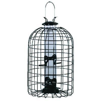 Audubon Wild Bird 2 lb. Wire/Plastic Caged Tube Seed Feeder