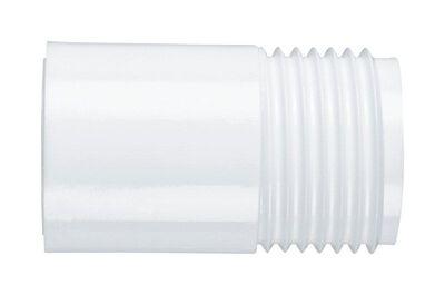 Lasco PVC Hose Adapter 1/2 in. Dia. x 3/4 in. MHT Dia. White 1 pk