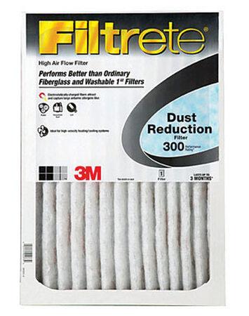 3M Filtrete 20 in. W x 24 in. L x 1 in. D Air Filter