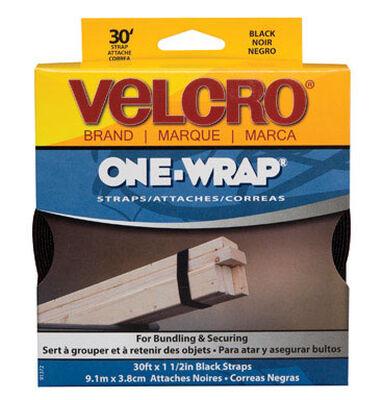 Velcro 30 in. L x 1-1/2 in. W Strap 1 pk