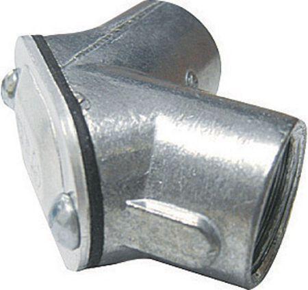 Sigma 1/2 in. Dia. Zinc Electrical Conduit Elbow IMC