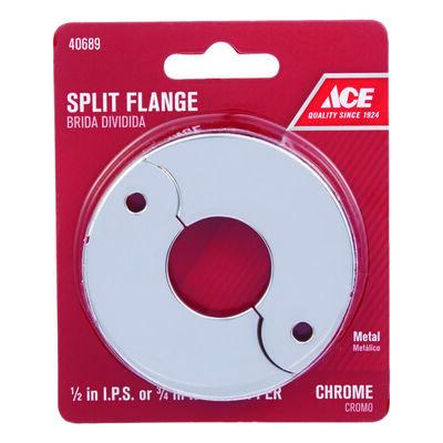 Ace 1/2 in. Brass Split Flange