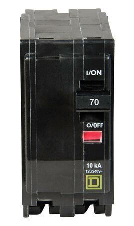 Square D QO Double Pole 70 amps Circuit Breaker