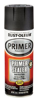 Rust-Oleum Stops Rust Gray Smooth Automotive Primer Sealer Spray 12 oz.